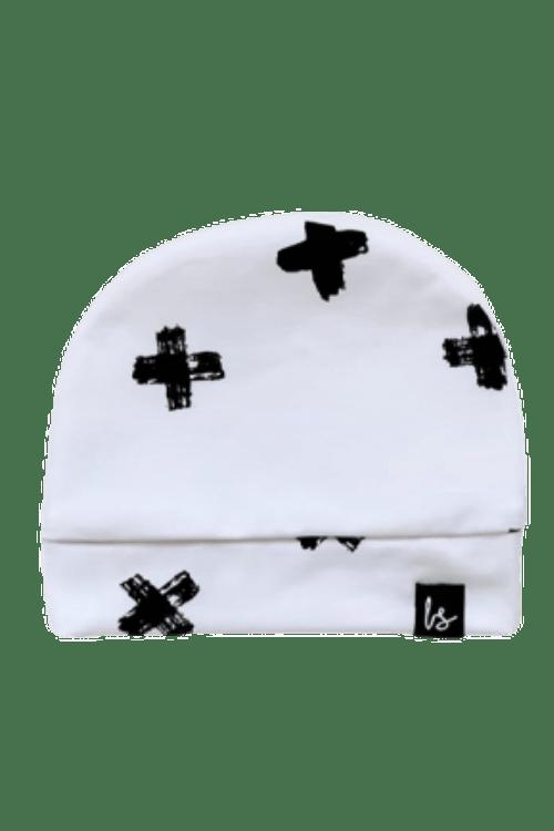 Crosses mutsje (wit)