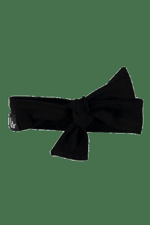 Zwart haarbandje