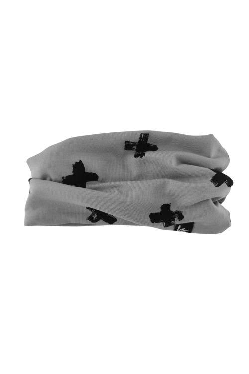 Crosses sjaaltje (grijs)