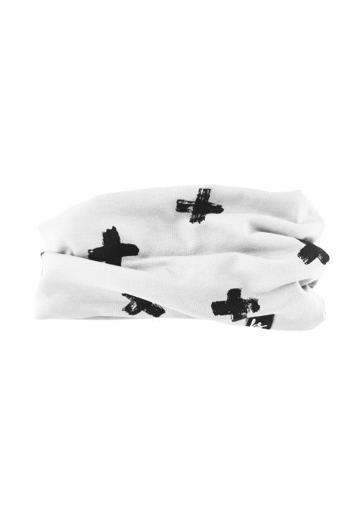 Crosses sjaaltje (wit)