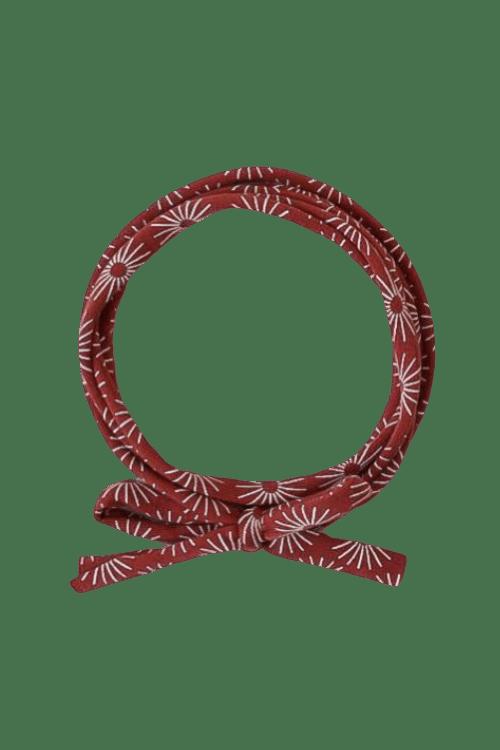 Knoophaarbandje umbrella (roest)