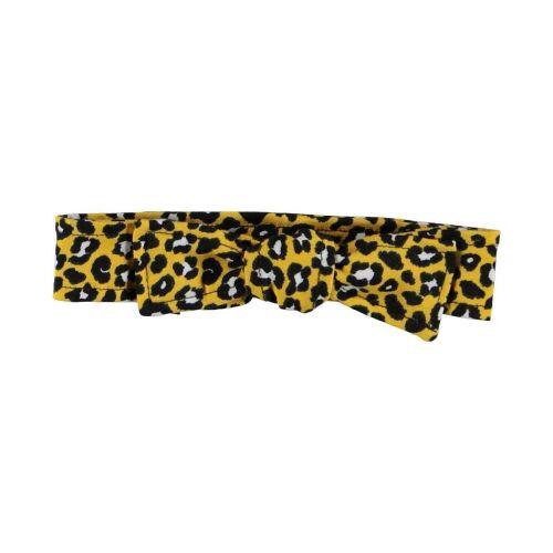 Leopard haarbandje (oker) (small print)
