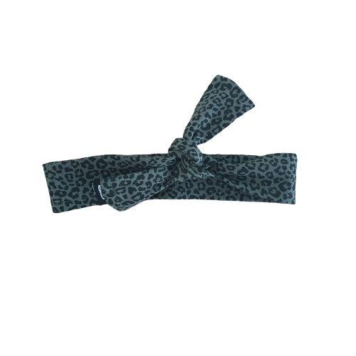 Luipaard haarbandje (small kaki)