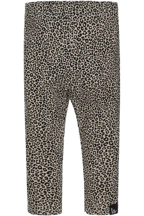 Luipaard legging (small beige)