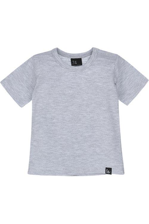 Basic grijs t-shirt