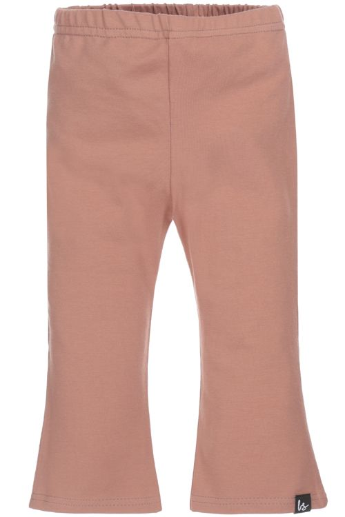 Flared pants corduroy (clay pink)