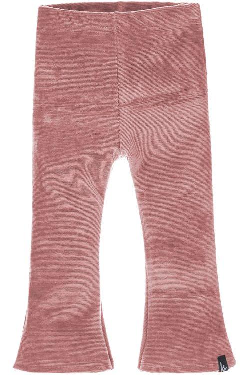 Flared pants corduroy (terra)