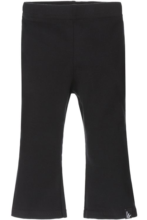 Flared pants zwart