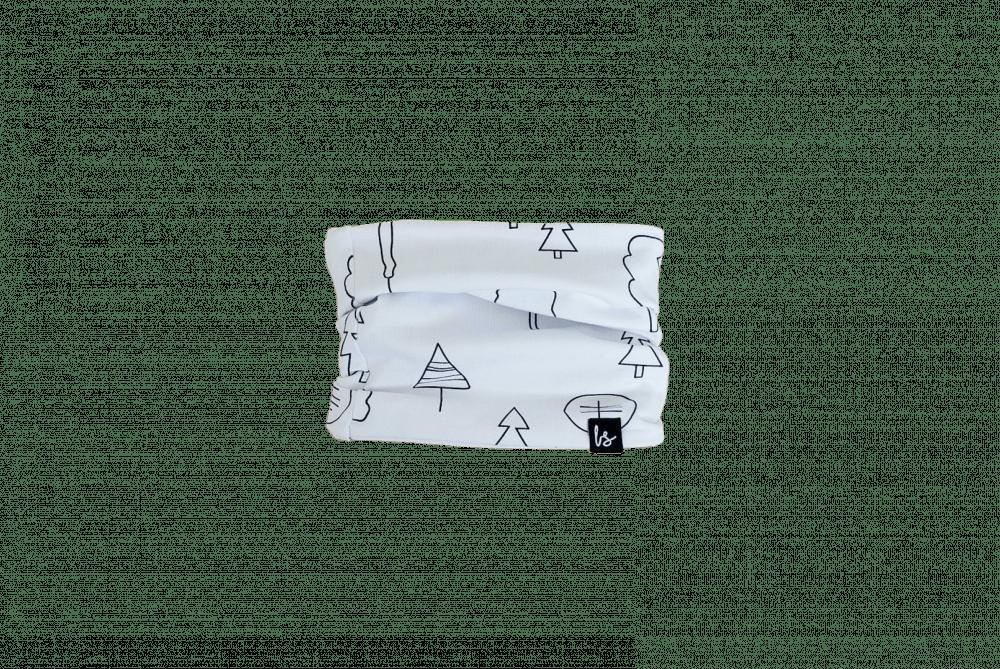 Forrest sjaaltje (wit)