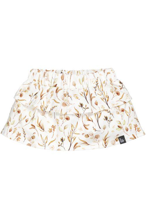 Layered skirt (flower leafs)