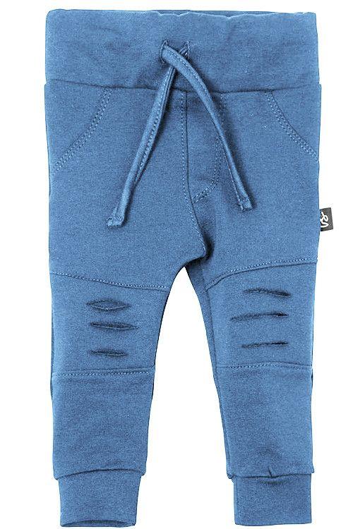 Ripped broekje blauw