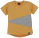 Mixed t-shirt (oker/grijs) (rounded back)