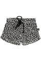 Panter short (small print) (wit)